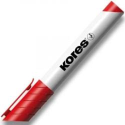 Popisovač Kores na tabule - 3mm, červený