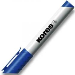 Popisovač Kores na tabule - 3mm, modrý