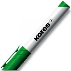 Popisovač Kores na tabule - 3mm, zelený