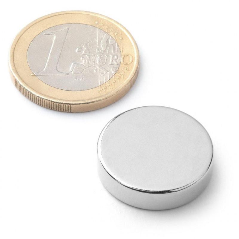 Kotouč stříbrný - 1 kus