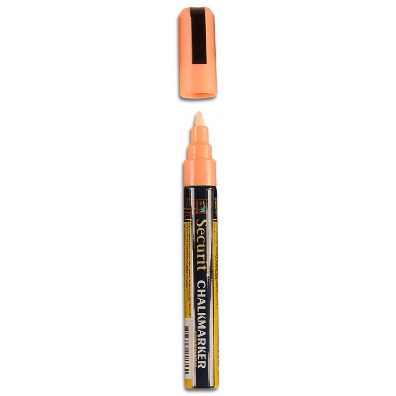 Securit Chalk Marker - bílý