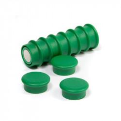 OF-1 - Kancelářské magnety - zelené - sada 10 kusů