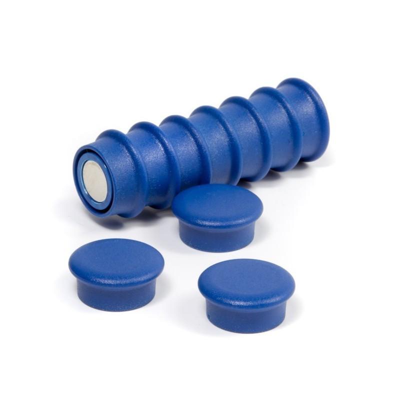 OF-1 - Kancelářské magnety - modré - sada 10 kusů